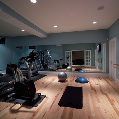 54 best images about home gym ideas on pinterest work on best color for studio walls id=59039