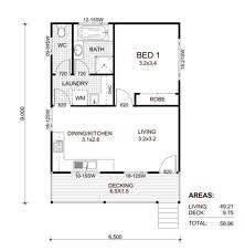 1 Bedroom Granny Flat Floor Plans Google Search Home Pinterest Flats And