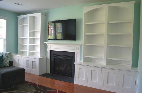 Family Room Bookcase Ideas