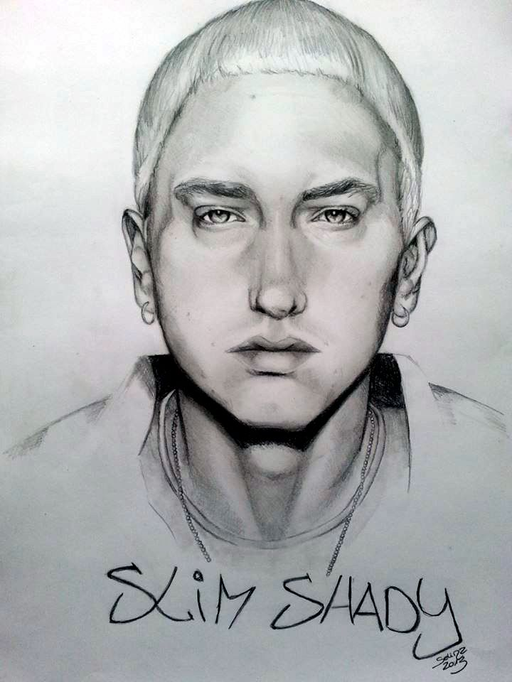 Most Famous Rapper Drawings