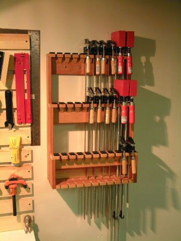 Clamp Rack For The Space Challenged By Mot LumberJocks