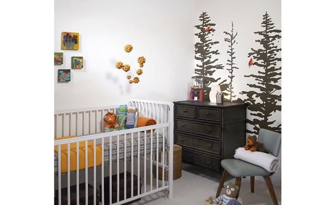 7 Nature-Themed Nurseries Youll Go Wild For | The Bump Blog  Pregnancy and Parenting News and Trends