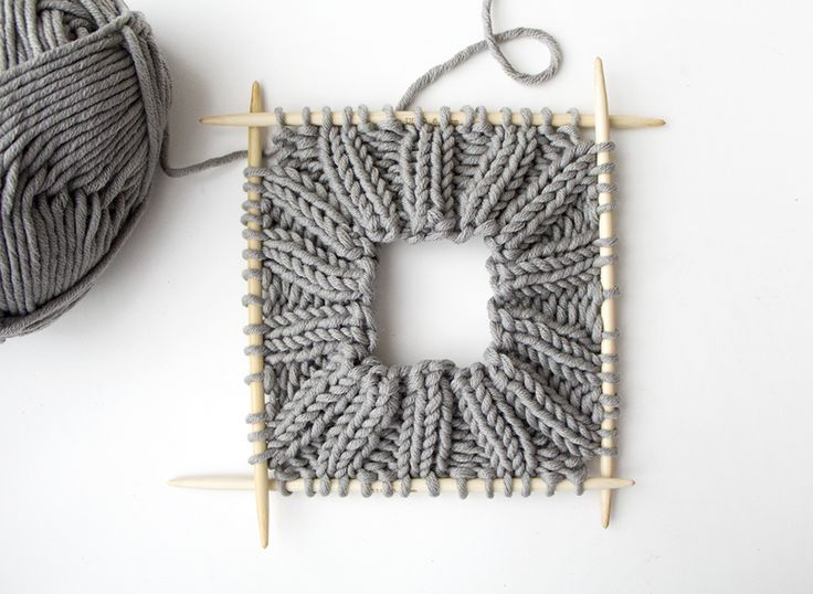 Knitting Patterns for Beginners   How to make a knitted hat step 3   Mollie Makes