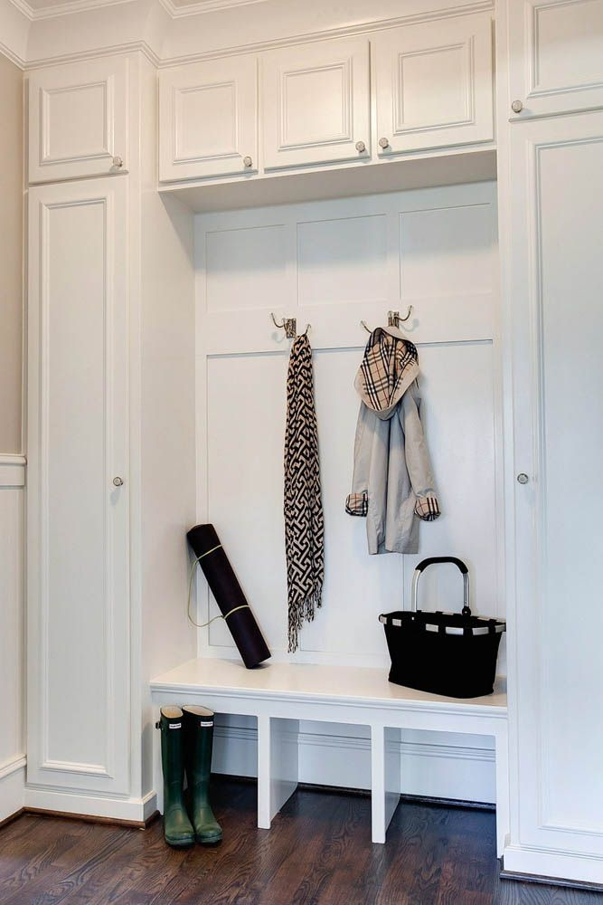 Entryway Storage Bench And Wall Cubbies Woodworking
