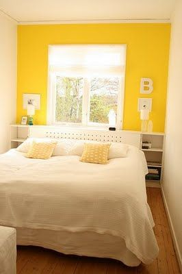 I Would Looooove To Have This As My Bedroom Infant Will Probably Look Yellow Accent Wallsyellow