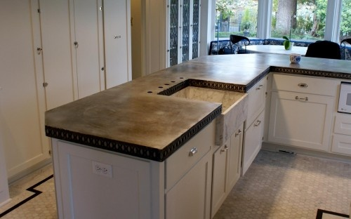 17 best images about bad ass kitchens with zinc countertops on pinterest pewter rustic on kitchen zinc id=46166