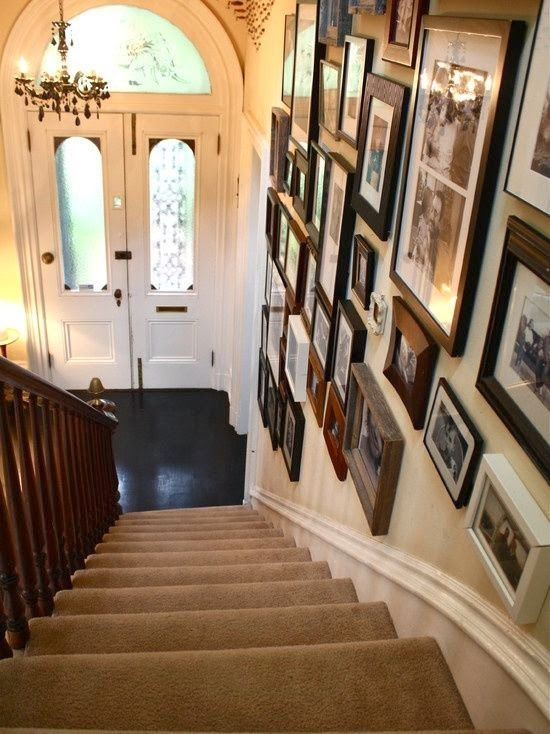 50 best images about staircase wall decorating ideas on on wall decor id=13770