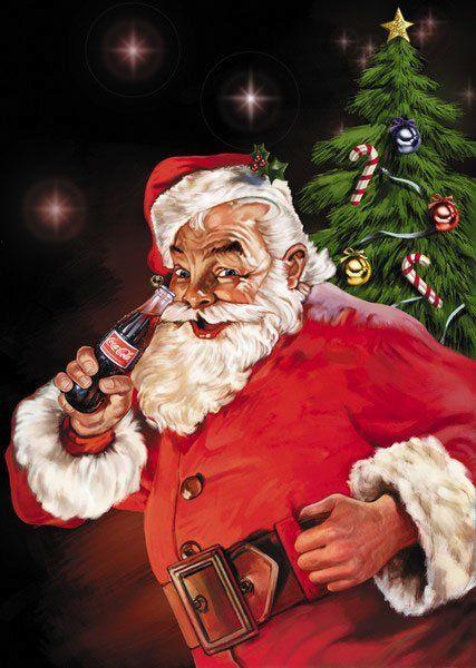 17 Images About Coca Cola Santa On Pinterest Christmas