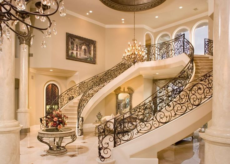 Grand Foyer Mansions Pinterest Beautiful Entrance And Staircases