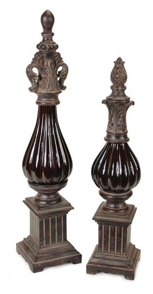 1000 Images About Home Decor Decorative Finials On Pinterest One Kings Lane Joss And Main