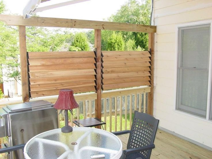 17 Best Ideas About Privacy Deck On Pinterest