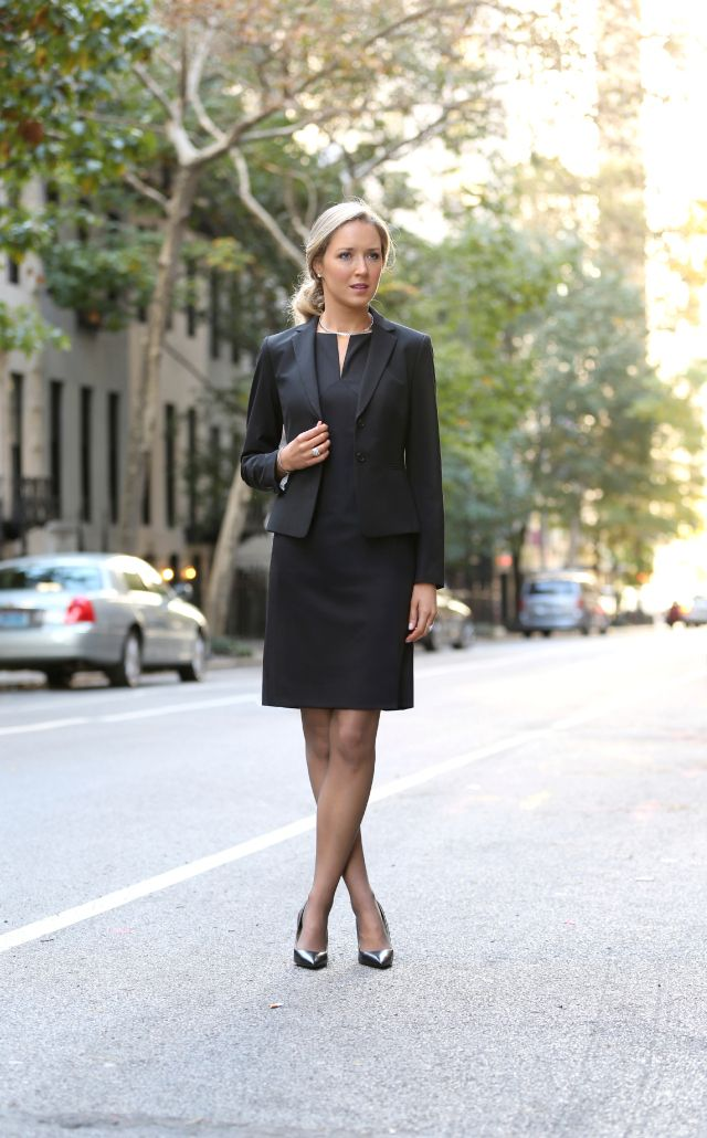 Corporate Career Women Wearing Tights