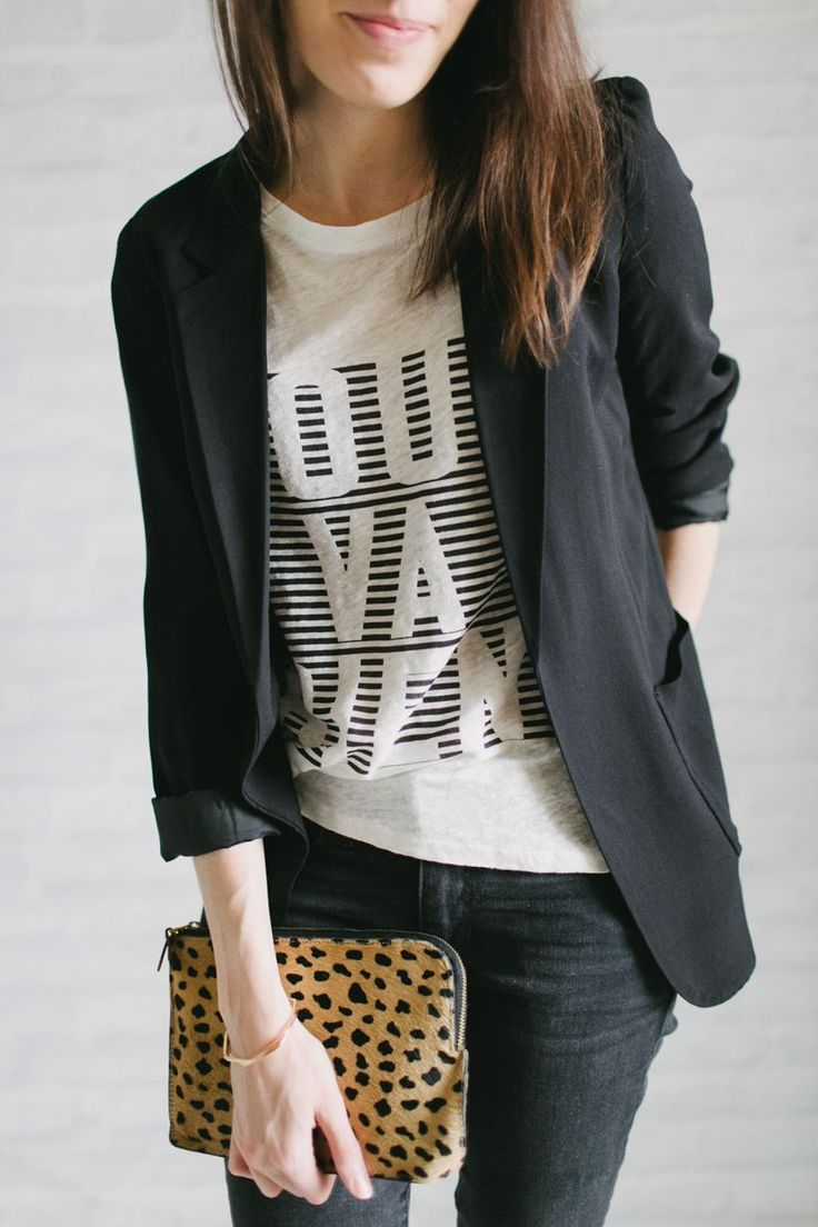 Genius Ideas For Wearing a T-Shirt (& Still Looking Chic) – littlepinkmoto.com
