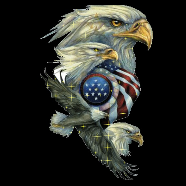 Eagle Crying America