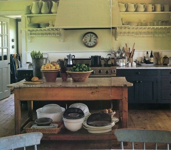 kitchens without upper cabinets the polished pebble kitchens with clutter what do we really on farmhouse kitchen no upper cabinets id=26238