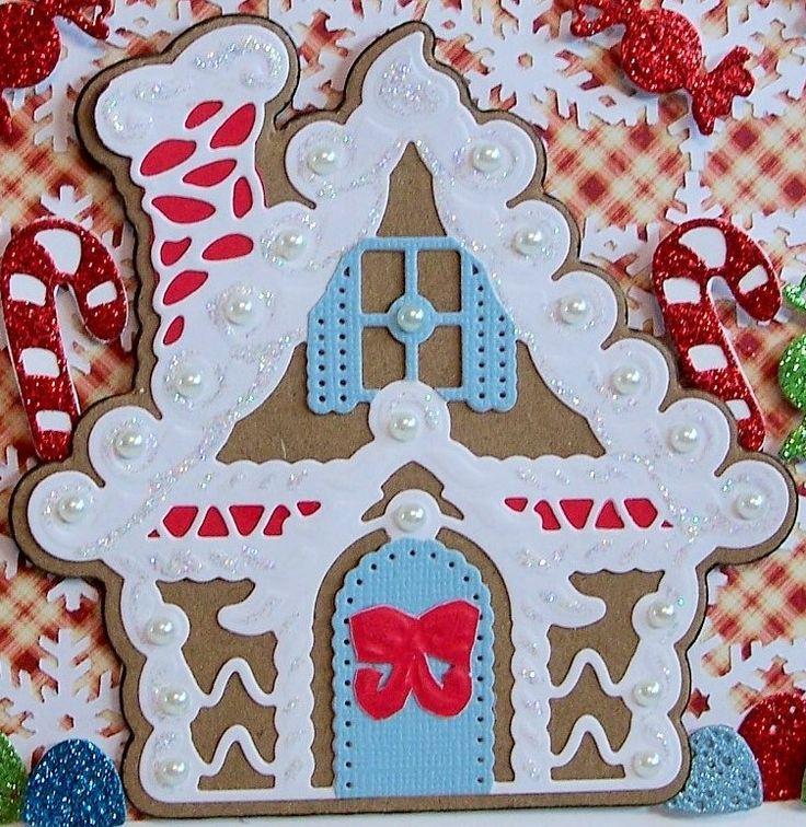 Spellbinders Gingerbread House Die Google Search Art