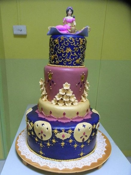 87 Best Images About Cakes Princess Jasmine On Pinterest