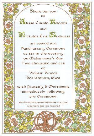 113 best celtic wedding invitations i love 3 images on pinterest - Celtic Wedding Invitations