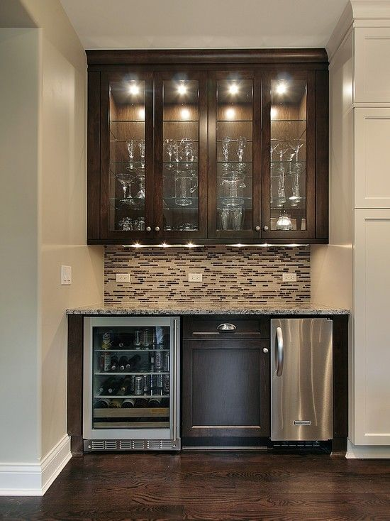 17 Best images about Small basement wet bar ideas on ... on Small Wet Bar In Basement  id=23769