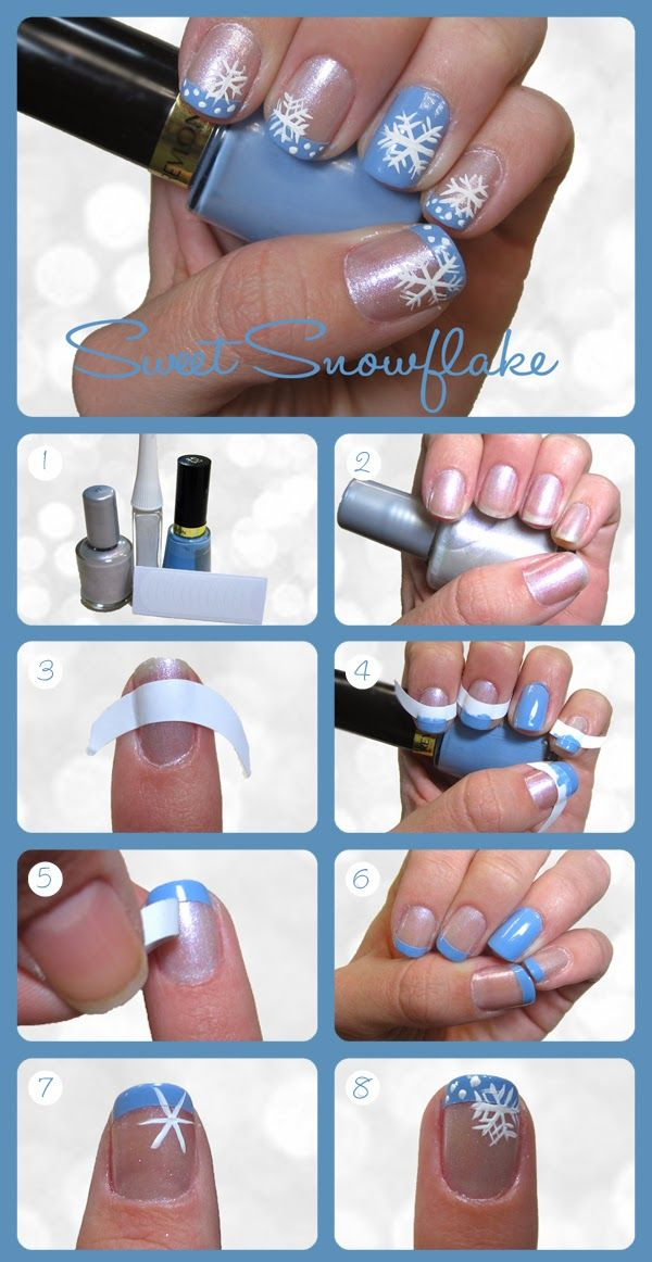 20+ Cutest Christmas Nail Art DIY Ideas | www.FabArtDIY.com Us on Facebook == www.facebook.com/…