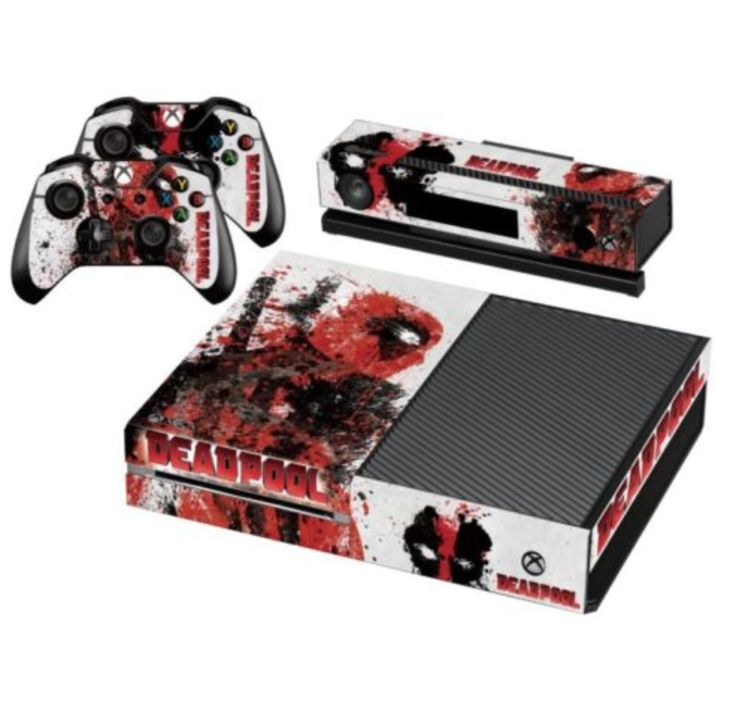 Deadpool SKIN For Your XBOX One Controller Amp Console Xbox One Pinterest Xbox One Xbox And
