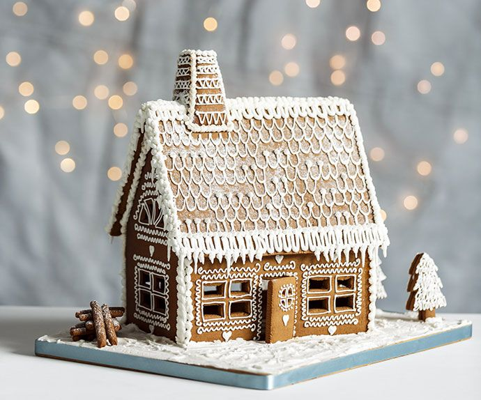 Gingerbread House Includes Template Christmas Pinterest Beautiful Window And Finals