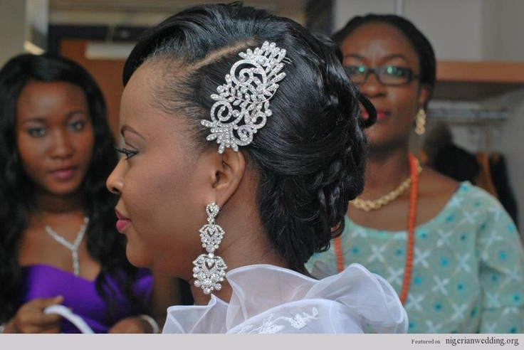 1000+ Images About Nigerian Wedding Hairstyles On