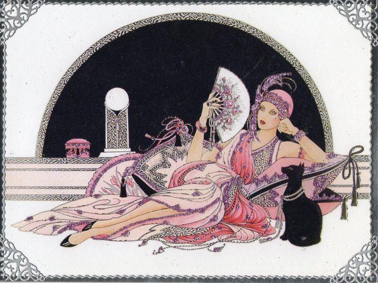 181 Best Art Deco Ladies Images On Pinterest