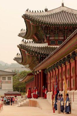 Gyeongbokgung Palace in Seoul, Korea. http://RetireFast.info - #WhatIsTheBestMountanBike: