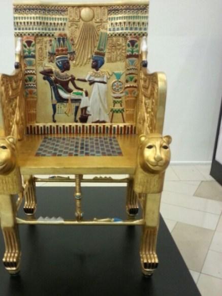 Trono Tutankamon: