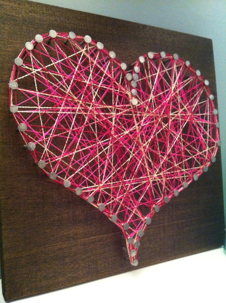 1000 Images About String Art Nail And Yarn On Pinterest
