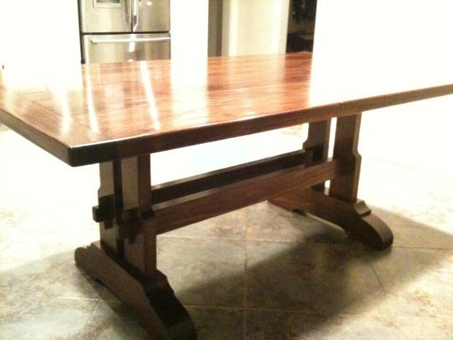17 Best Images About Trestle Table On Pinterest