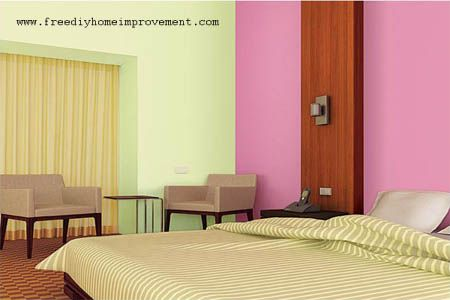 home interior wall paint color scheme with pink color on interior design painting walls combination id=66166