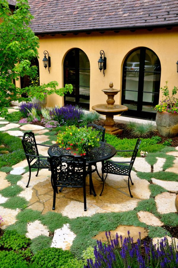 308 best Stone patio ideas images on Pinterest on Rock Patio Designs  id=57193