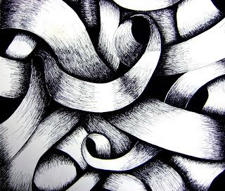 Art Education Blog: Curved Line Drawing