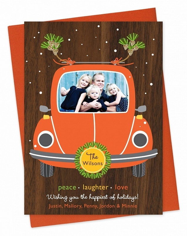 Night Owl Paper Goods Holiday Cards Personalized