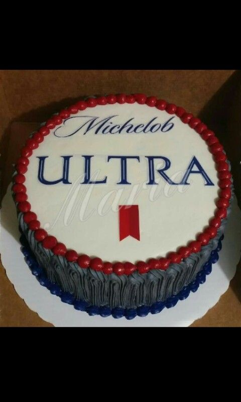 Beer Cake Michelob Ultra Cake Beer Pinterest Beer