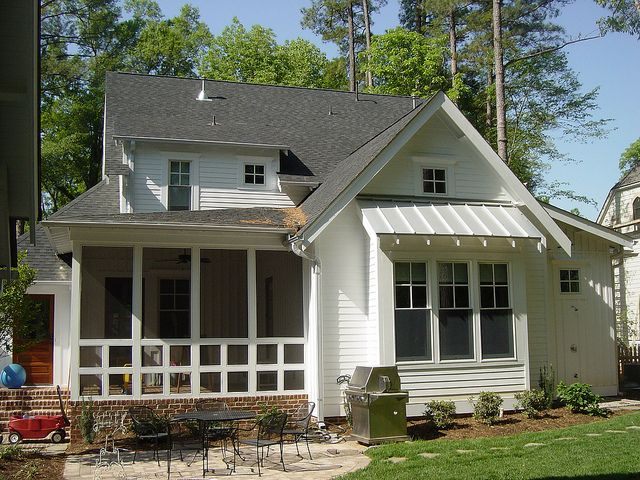 229 Brook Rear Elevation The Screened Porch And Patio Are