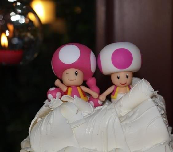 Toad And Toadette Wedding Cake Toadette And Toad