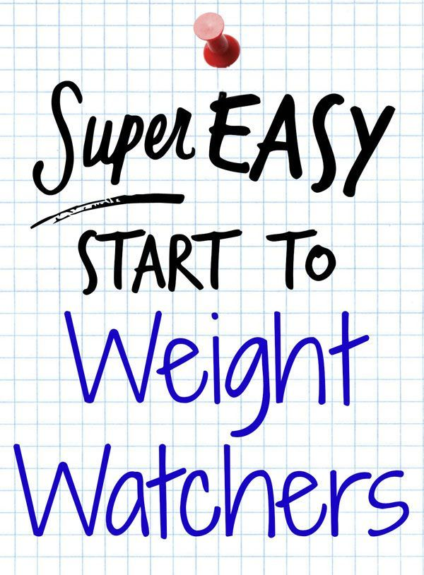 Weight Watchers new Simple