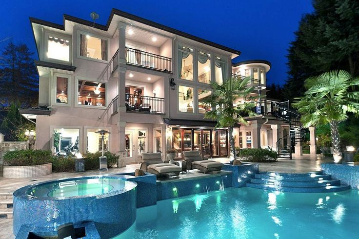 Gorgeous Backyard Pool And AMAZING HOUSE (: My Dream Home
