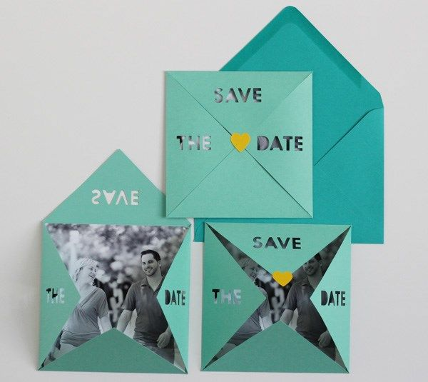 Save The Date Invites By Michelle Edgemont Make It Now With The Cricut Explore Machine In
