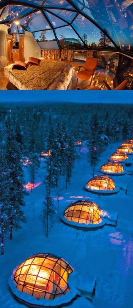Incredible Hotels Never to be Missed – Hotel Kakslauttanen, Finland