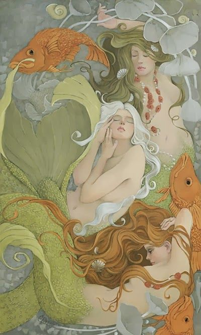♒ Mermaids Among Us ♒ art photography & paintings of sea sirens & water maidens – Christina Wyatt | Artodyssey