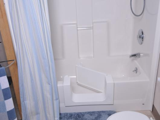 Liberty Home Solutions Walk In Bathtub A Popular Option Is The Walk In Tub Shower Combo That