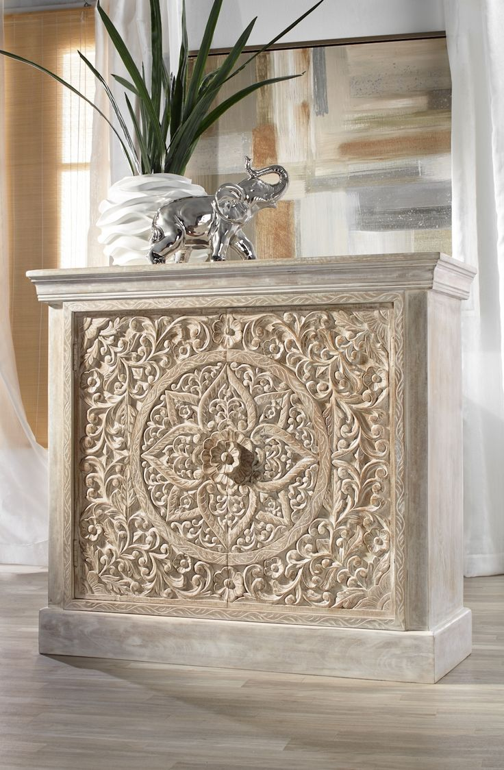 Our NEW Hand Carved Sanctuary Cabinet Is Constructed Of