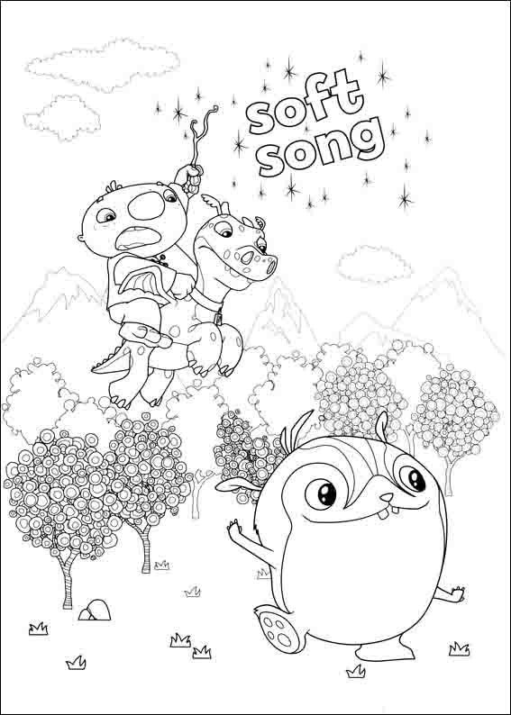 Hatchimals Coloring Sheet Coloring Pages
