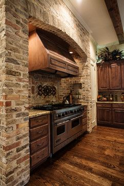 Kitchen Stove Brick Design Ideas Pictures Remodel And