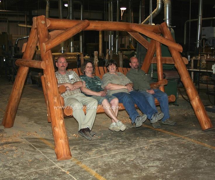 Massive Log Swing From Cedar Lake My Kinda Home