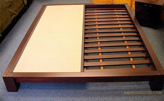 Japanese Platform Bed Plans WoodWorking Projects Amp Plans
